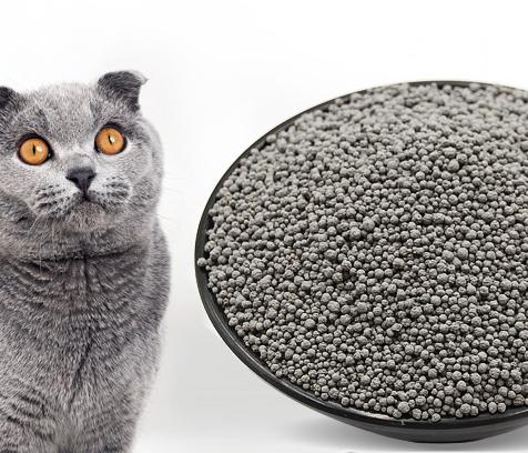 رمل القطط الكربونى او المتكتل