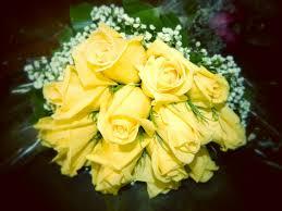 بوكيه ورد اصفر